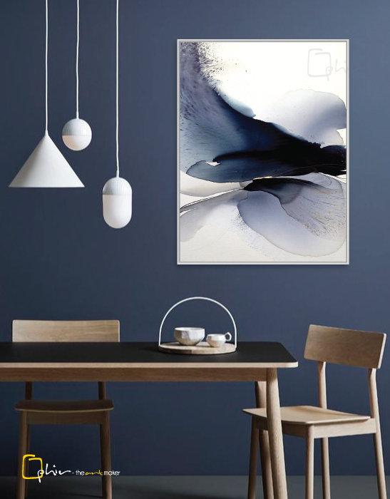 Elegante - Floater Frame - White