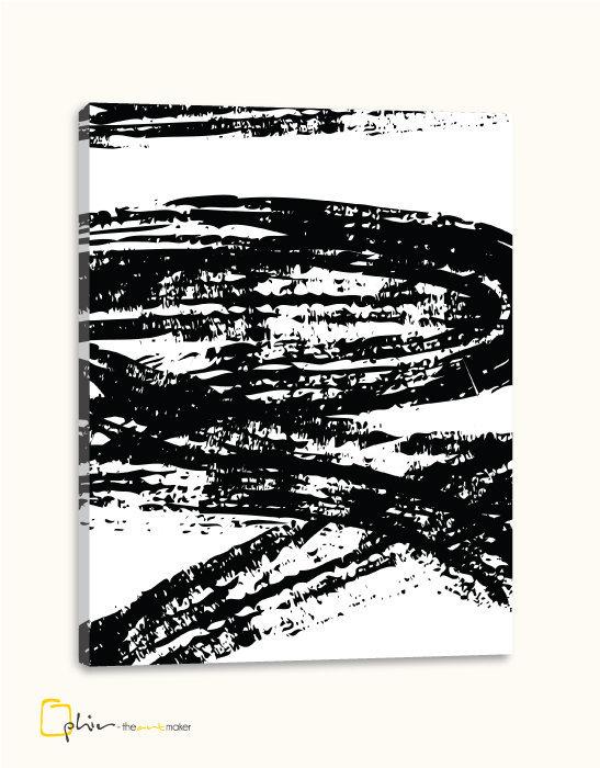 Stone Strokes - Classic Gallery Wrap