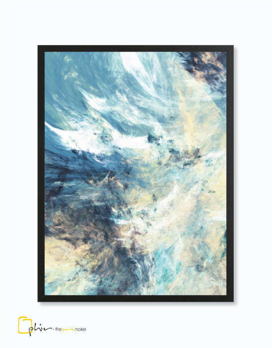 Tranquil - Wooden Frame