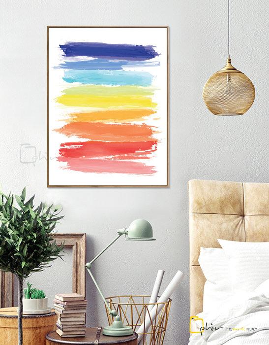 Colorido - Floater Frame - Dark Oak