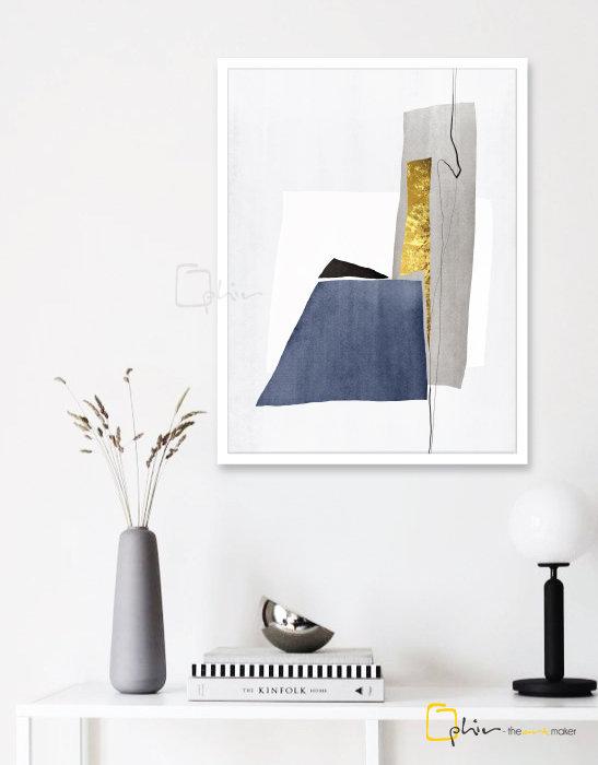 Forte I - Wooden Frame - White