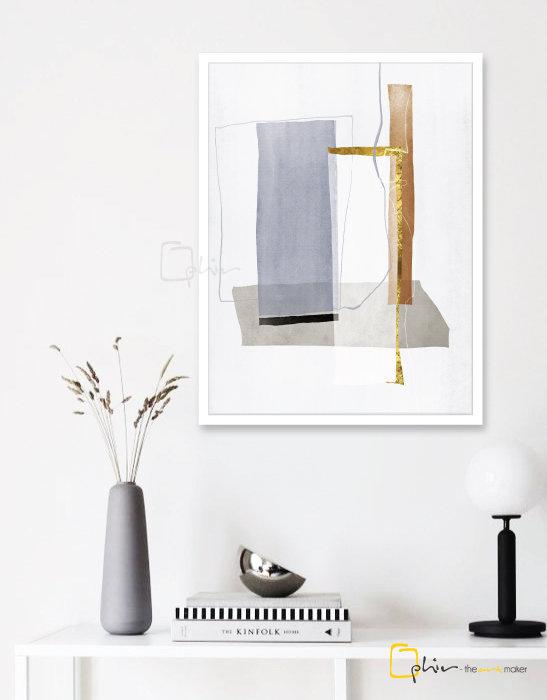 Forte III - Wooden Frame - White
