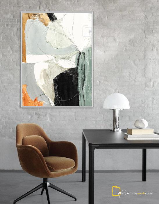Costante - Floater Frame - White