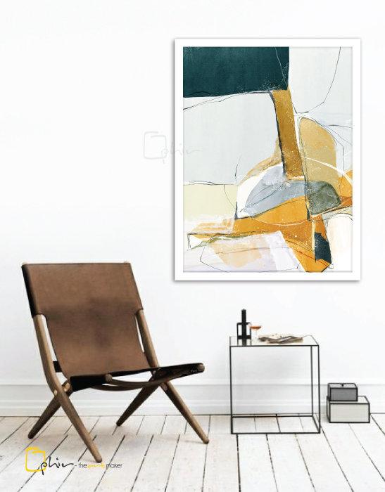 Incassable - Wooden Frame - White