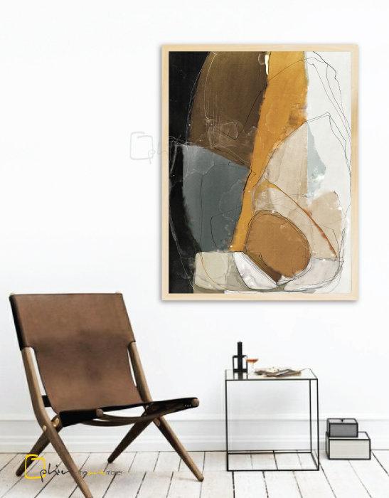 Ambiance - Wooden Frame - Oak