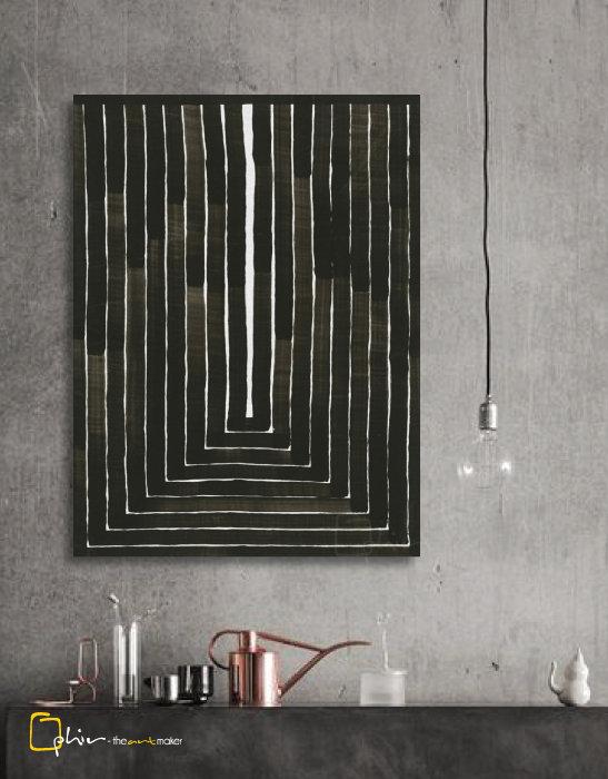 Linee Rette - Classic Gallery Wrap