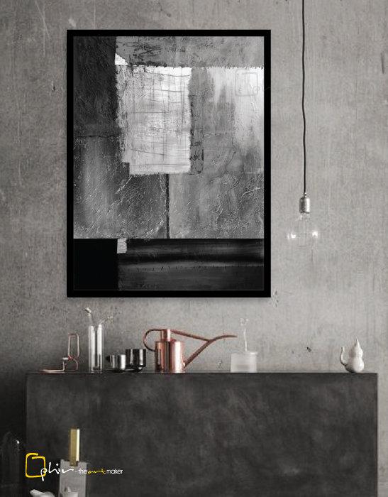 Solidae - Wooden Frame - Black