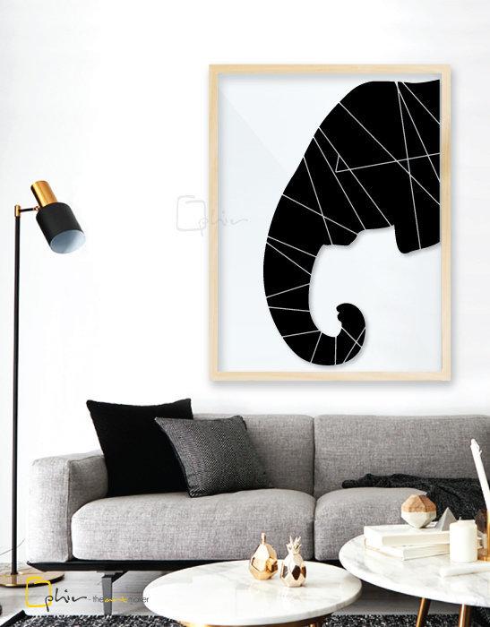 Elephas - Plexiglass - Oak