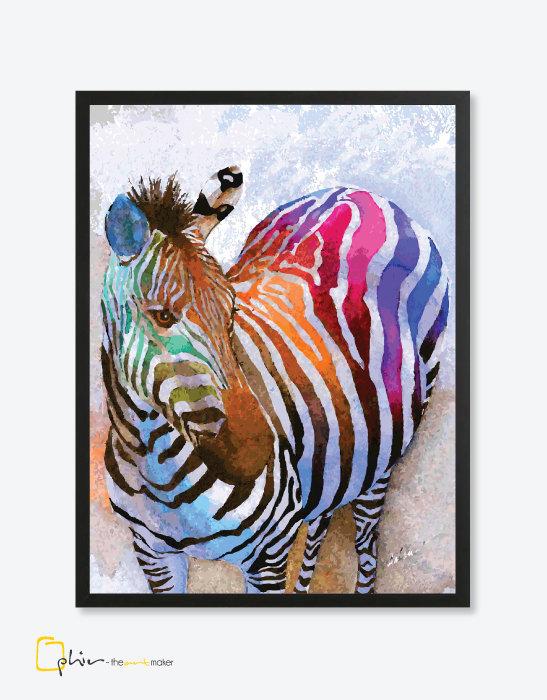 Colorful Equus - Plexiglass