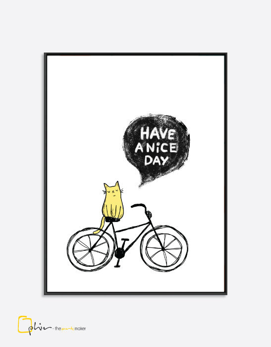 Have a Nice Day - Floaater Frame