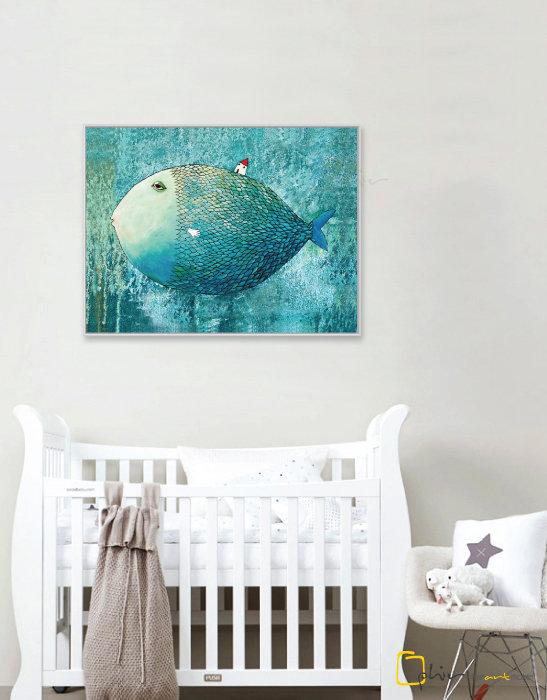Chubby - Floater Frame - White