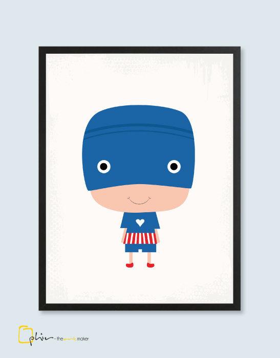 Hero Boy Captain - Plexiglass