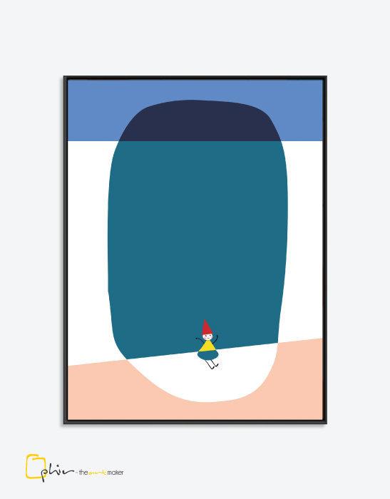 Little Boo - Floater Frame